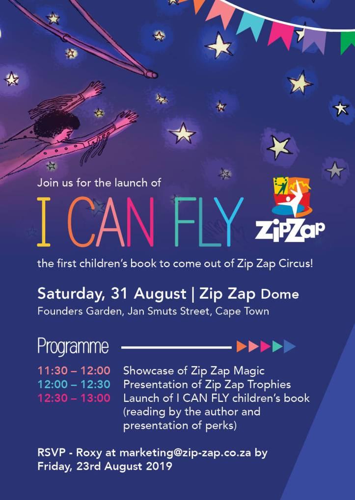 ZZ AGM Invitation - I Can Fly